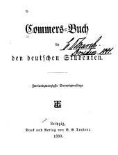 Commers-Buch für den deutschen Studenten
