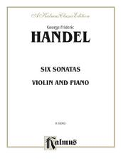 Six Sonatas: For Violin and Piano