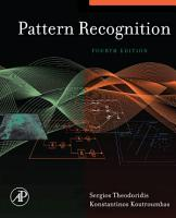 Pattern Recognition PDF