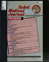 Sahel Medical Journal PDF