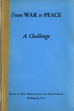 From War to Peace  a Challenge PDF