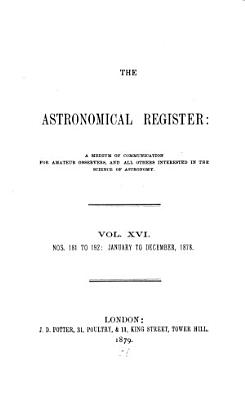 The Astronomical Register PDF