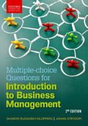 Multiple choice Questions for Introduction to Business Management