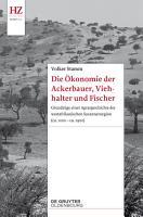 Die   konomie der Ackerbauer  Viehhalter und Fischer PDF