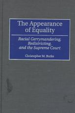 The Appearance of Equality PDF