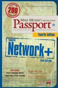 Mike Meyers    CompTIA Network  Certification Passport  4th Edition  Exam N10 005  PDF