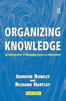 Organizing Knowledge PDF