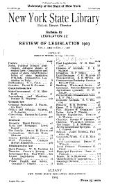 Legislation: Volume 22