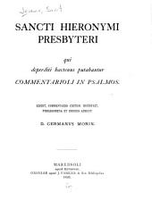 Commentarioli in Psalmos