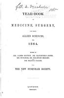 A Year book of Medicine  Surgery and Their Allied Sciences  for     PDF