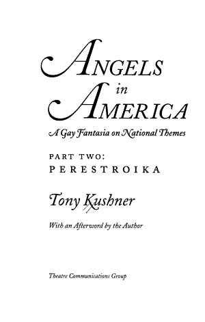 Angels in America: Perestroika