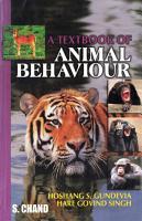 A Textbook of Animal Behaviour PDF