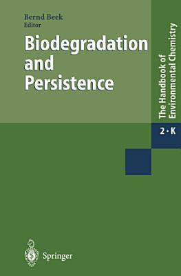 Biodegradation and Persistence PDF