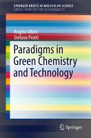 Paradigms in Green Chemistry and Technology PDF