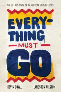 Everything Must Go Book