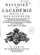 Histoire de l'Académie Royale des Sciences: année MDCCLXXVII, avec les Mémoires de Mathématique & Physique ...