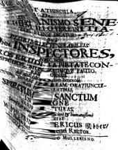 Dissertatiuncula de Christianismo Senecae, num illo vere initiatus fuisse dicatur?