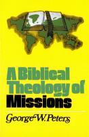 A Biblical Theology of Missions PDF