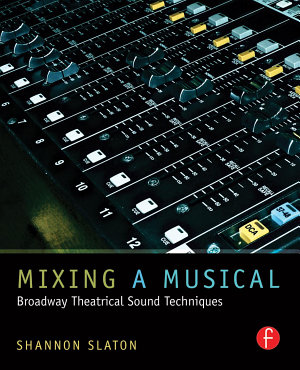 Mixing a Musical PDF