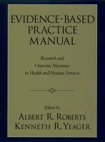 Evidence Based Practice Manual PDF