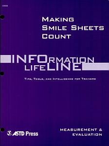 Making Smile Sheets Count Book