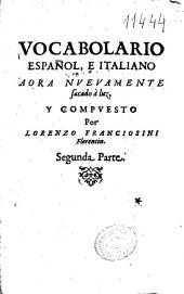 Vocabolario español, e italiano