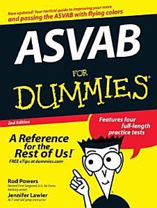 ASVAB For Dummies Book