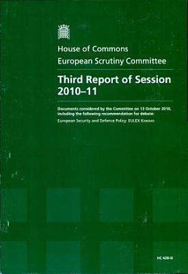 Third report of session 2010 11