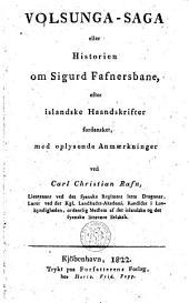 Volsunga-saga eller historien om Sigurd Fafnersbane