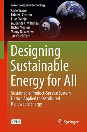 Designing Sustainable Energy for All PDF