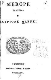 Merope: tragedia di Scipione Maffei