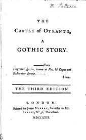The Castle of Otranto,: A Gothic Story
