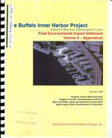 Buffalo Inner Harbor Development Project PDF