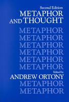 Metaphor and Thought PDF