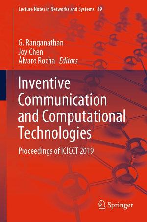 Inventive Communication and Computational Technologies