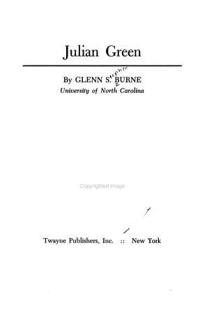 Julian Green