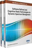 Handbook of Research on Software Defined and Cognitive Radio Technologies for Dynamic Spectrum Management PDF