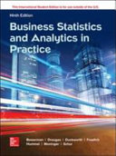 ISE Business Statistics and Analytics in Practice