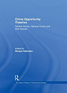 Crime Opportunity Theories PDF