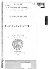 Description and Treatment of Scabies in Cattle