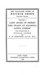 The Collected Works of Henrik Ibsen: Volume 1