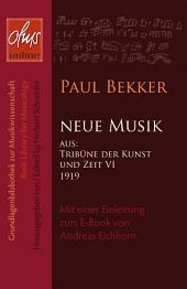 Neue Musik: Mit einer Einleitung zum E-Book von Andreas Eichhorn.