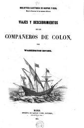 Viajes y descubrimientos de los compañeros de Colon