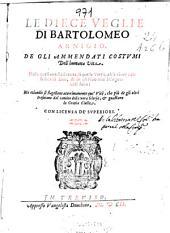 Le Diece veglie di Bartolomeo Arnigio ...