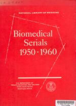 Biomedical Serials, 1950-60