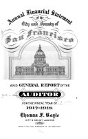 Download The Auditor s Annual Report of Financial Transactions of the City and County of San Francisco Book
