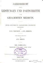 Jahresbericht   ber die Leistungen und Fortschritte in der gesammten Medicin PDF