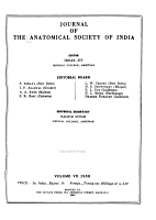 Journal of the Anatomical Society of India PDF
