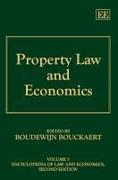 Property Law and Economics PDF