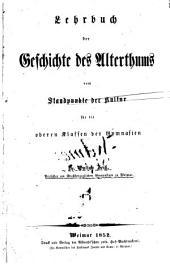 Lehrbuch der allgem. Gesch. vom Standpunkte der Kultur